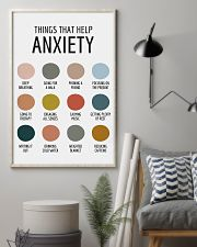 THINGS THAT HELP ANXIETY 11x17 Poster lifestyle-poster-1