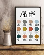 THINGS THAT HELP ANXIETY 11x17 Poster lifestyle-poster-3