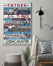 FATHER YOU ARE AS STRONG AS 11x17 Poster lifestyle-poster-1
