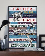 FATHER YOU ARE AS STRONG AS 11x17 Poster lifestyle-poster-2