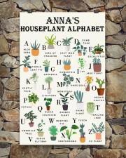 HOUSEPLANT ALPHABET - CUSTOM NAME 11x17 Poster aos-poster-portrait-11x17-lifestyle-16