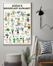HOUSEPLANT ALPHABET - CUSTOM NAME 11x17 Poster lifestyle-poster-1