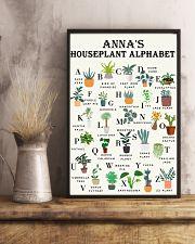 HOUSEPLANT ALPHABET - CUSTOM NAME 11x17 Poster lifestyle-poster-3