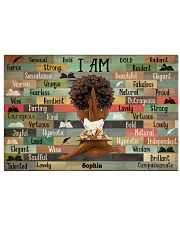 BOOK I AM - CUSTOM NAME 17x11 Poster front