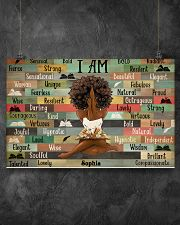 BOOK I AM - CUSTOM NAME 17x11 Poster poster-landscape-17x11-lifestyle-12