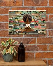 BOOK I AM - CUSTOM NAME 17x11 Poster poster-landscape-17x11-lifestyle-23