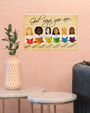 GOD SAYS YOU ARE 17x11 Poster poster-landscape-17x11-lifestyle-21