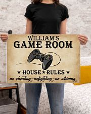 GAME ROOM  - CUSTOM NAME 24x16 Poster poster-landscape-24x16-lifestyle-20