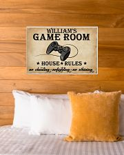 GAME ROOM  - CUSTOM NAME 24x16 Poster poster-landscape-24x16-lifestyle-27