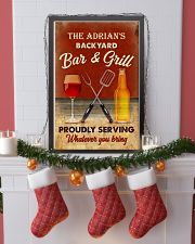 BAR AND GRILL - CUSTOM NAME 11x17 Poster lifestyle-holiday-poster-4
