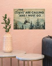 THE SLOPES ARE CALLING AND I MUST GO 17x11 Poster poster-landscape-17x11-lifestyle-21