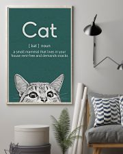 CAT - A SMALL MAMMAL THAT LIVES IN THE HOUSE 11x17 Poster lifestyle-poster-1