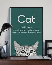 CAT - A SMALL MAMMAL THAT LIVES IN THE HOUSE 11x17 Poster lifestyle-poster-2