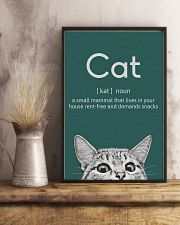 CAT - A SMALL MAMMAL THAT LIVES IN THE HOUSE 11x17 Poster lifestyle-poster-3