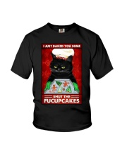 I JUST BAKE YOU SOME SHUT THE FUCUPCAKES Youth T-Shirt tile