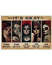 IT'S OKAY 17x11 Poster front
