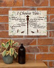 I CHOOSE YOU 17x11 Poster poster-landscape-17x11-lifestyle-23