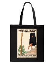 BOOKS GIVE THE SOUL Tote Bag tile