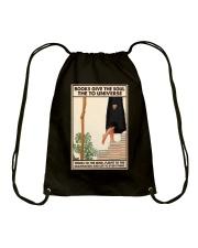 BOOKS GIVE THE SOUL Drawstring Bag tile