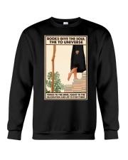 BOOKS GIVE THE SOUL Crewneck Sweatshirt tile