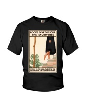 BOOKS GIVE THE SOUL Youth T-Shirt tile