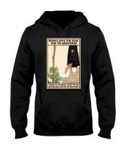 BOOKS GIVE THE SOUL Hooded Sweatshirt tile