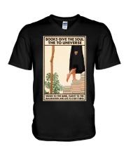BOOKS GIVE THE SOUL V-Neck T-Shirt tile