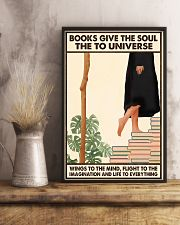 BOOKS GIVE THE SOUL 11x17 Poster lifestyle-poster-3