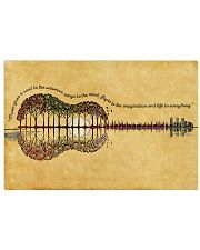 HIPPIE GUITAR FOREST 17x11 Poster front