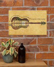 HIPPIE GUITAR FOREST 17x11 Poster poster-landscape-17x11-lifestyle-23