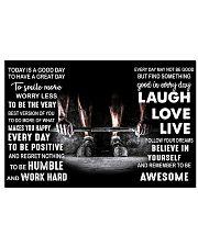 TODAY IS A GOOD DAY 17x11 Poster front