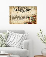 READING ROOM  - CUSTOM NAME 24x16 Poster poster-landscape-24x16-lifestyle-01