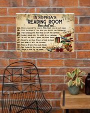 READING ROOM  - CUSTOM NAME 24x16 Poster poster-landscape-24x16-lifestyle-24