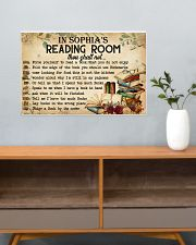 READING ROOM  - CUSTOM NAME 24x16 Poster poster-landscape-24x16-lifestyle-25