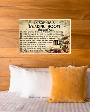 READING ROOM  - CUSTOM NAME 24x16 Poster poster-landscape-24x16-lifestyle-27