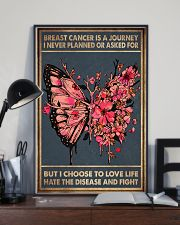 BREAST CANCER IS A JOURNEY 11x17 Poster lifestyle-poster-2