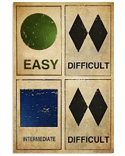 EASY - DIFFICULT - INTERMEDIATE - DIFFICULT 11x17 Poster front