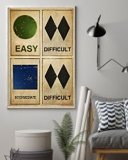 EASY - DIFFICULT - INTERMEDIATE - DIFFICULT 11x17 Poster lifestyle-poster-1