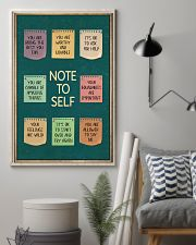 NOTE TO SELFT 11x17 Poster lifestyle-poster-1