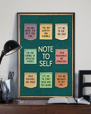 NOTE TO SELFT 11x17 Poster lifestyle-poster-2