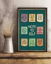 NOTE TO SELFT 11x17 Poster lifestyle-poster-3