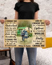 CAMPING - I CHOOSE YOU COUPLE - CUSTOM NAME 24x16 Poster poster-landscape-24x16-lifestyle-20