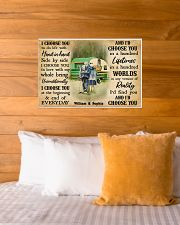 CAMPING - I CHOOSE YOU COUPLE - CUSTOM NAME 24x16 Poster poster-landscape-24x16-lifestyle-27