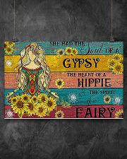 YOGA GIRL GYPSY HIPPIE FAIRY 17x11 Poster poster-landscape-17x11-lifestyle-12