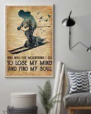 AND INTO THE MOUNTAIN I GO TO LOSE MY MIND 11x17 Poster lifestyle-poster-1