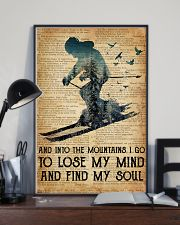 AND INTO THE MOUNTAIN I GO TO LOSE MY MIND 11x17 Poster lifestyle-poster-2