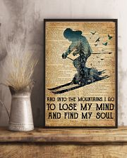 AND INTO THE MOUNTAIN I GO TO LOSE MY MIND 11x17 Poster lifestyle-poster-3