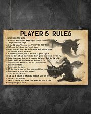 PLAYER'S RULES 17x11 Poster poster-landscape-17x11-lifestyle-12