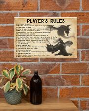 PLAYER'S RULES 17x11 Poster poster-landscape-17x11-lifestyle-23