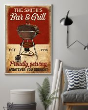BAR AND GRILL  - CUSTOM NAME 11x17 Poster lifestyle-poster-1